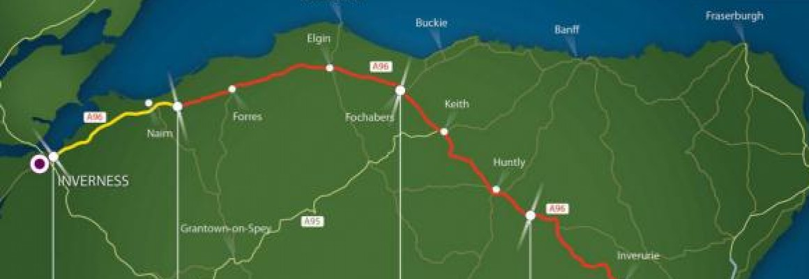 Transport Scotland short-list four to bid for a £50m design contract to dual part of the A96.