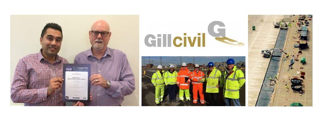 Gill Civil attain Full Licensee status