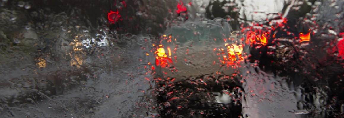 """Weather always looks worse through a window."""
